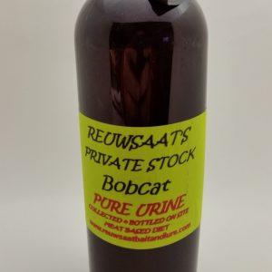 """Reuwsaat """"Private Stock"""" Bobcat Urine, Pint"""