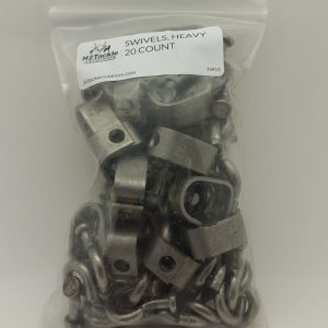 Swivels, Heavy Duty, 20 count