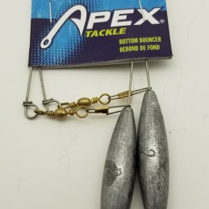 Apex Bottom Bouncer, Unpainted, 2 oz