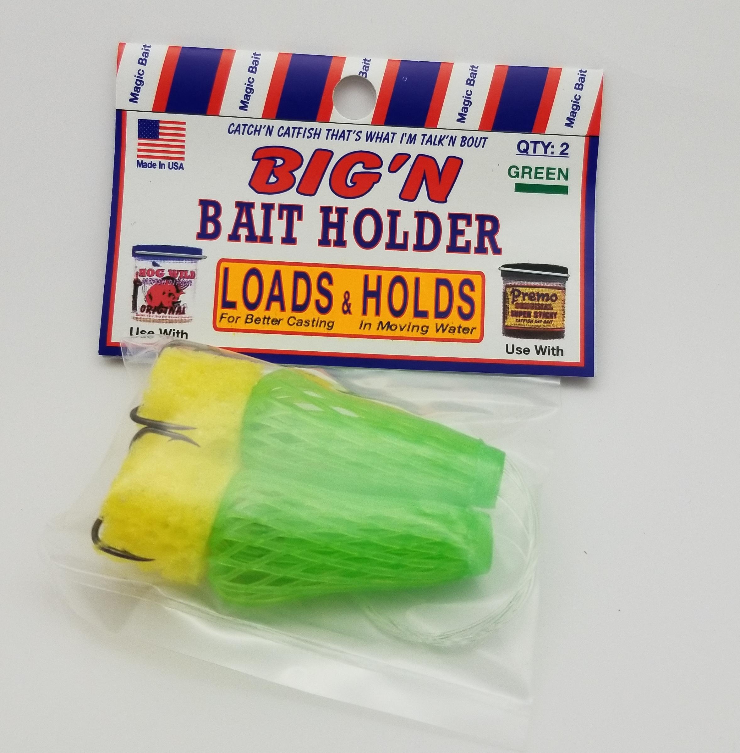 3 Pack Treble Spring Hook Size 6 Magic Bait Co For Catfish Dough Bait