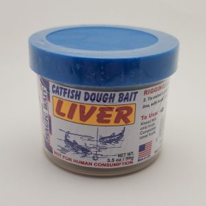 Magic Bait Co., Catfish Dough Bait, Liver, 3.5 oz