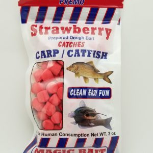Magic Bait Co. Catfish and Carp Dough Bait, Strawberry