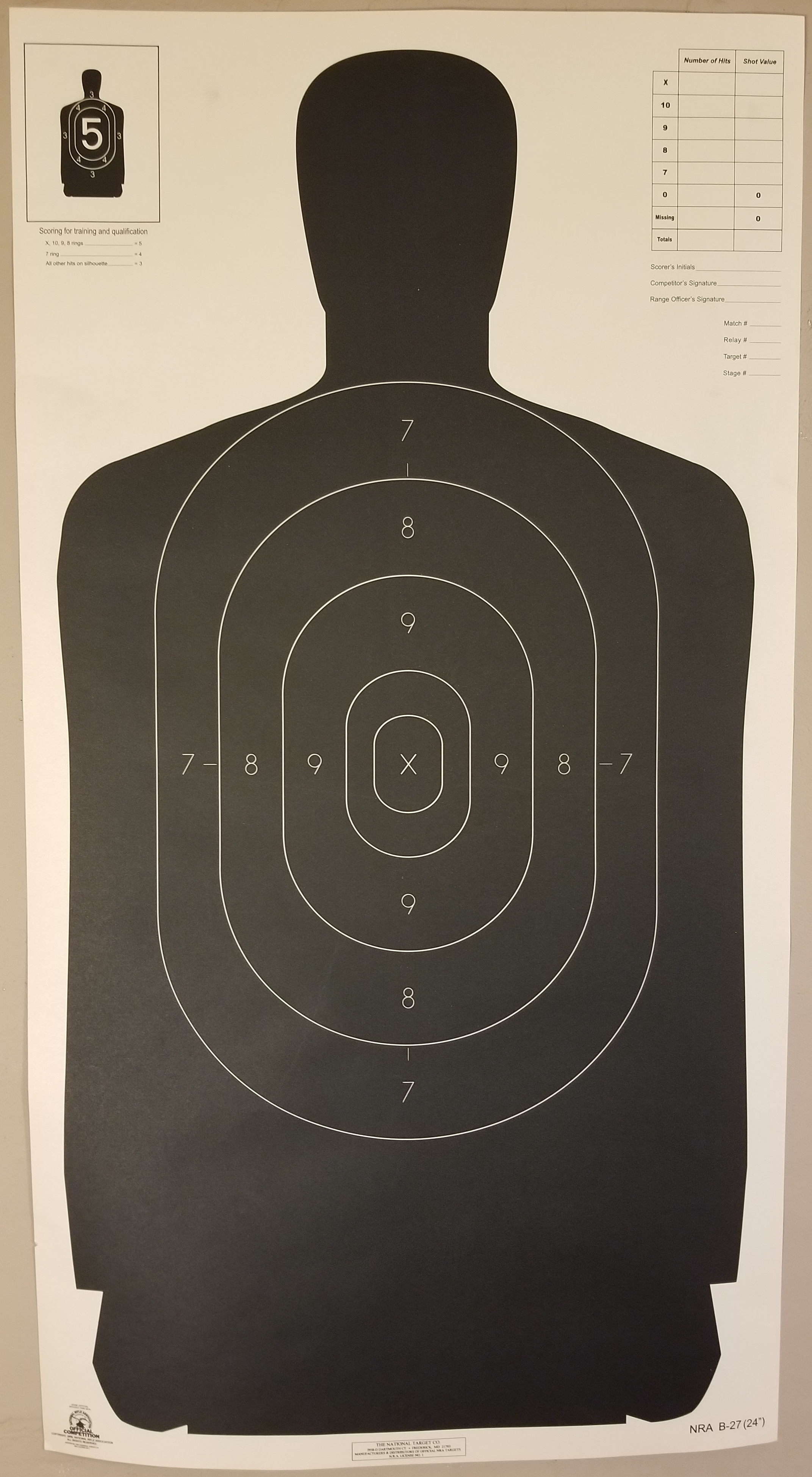 It's just a photo of Gargantuan Nra Silhouette Targets Printable