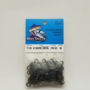Rite Angler #1 Barrel Swivel 150Lb 50Pack