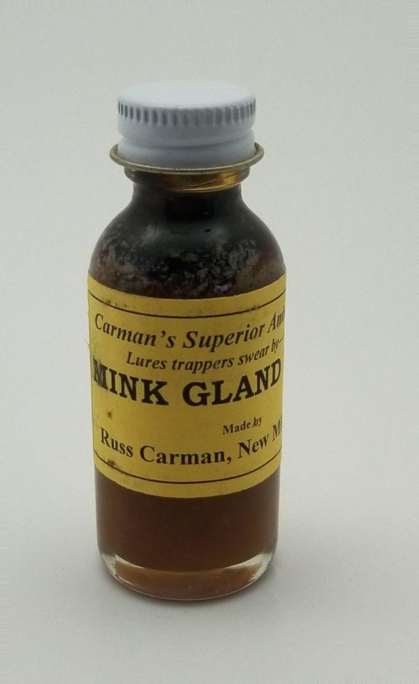 Carman Mink Gland Lure, 1 oz