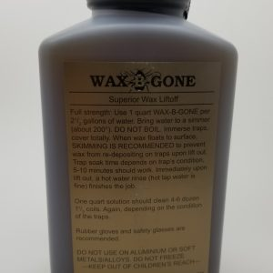 Wax-B-Gone, Quart