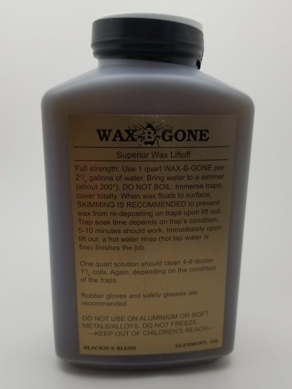 Wax-B-Gone, Quart