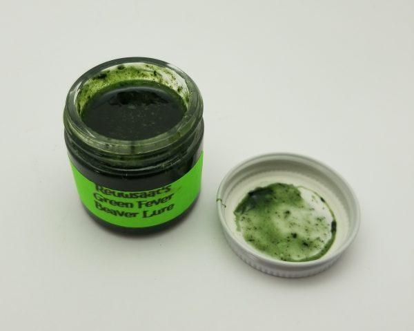 Reuwsaat Green Fever Beaver Lure, 1 oz.