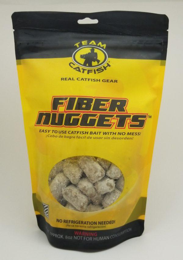 Team Catfish Fiber Nuggets, 8 oz Bag
