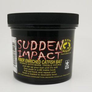 Team Catfish Sudden Impact Fiber Bait, 12 oz