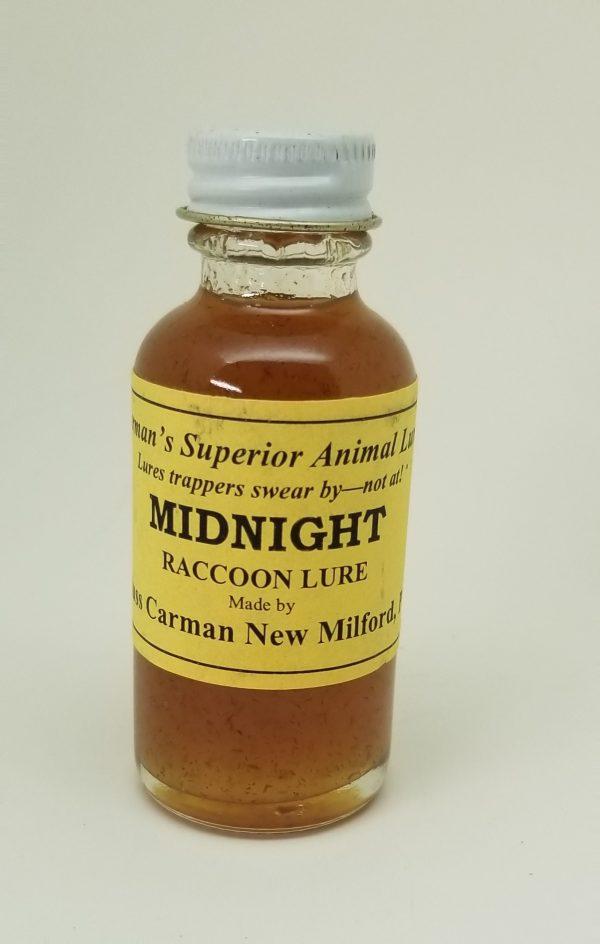 Carman Midnight Raccoon Lure, 1 oz