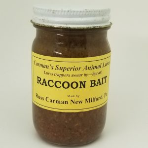 Carman Raccoon Bait, 4 oz