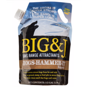 Big & J Hogs Hammer It, Liquid, 5 lb Bag