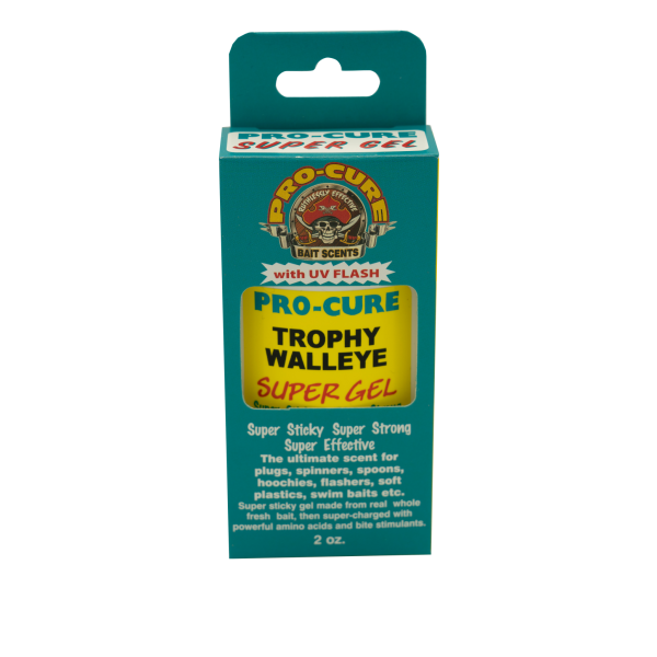 Pro-Cure Walleye Trophy Magic Gel, 2 oz