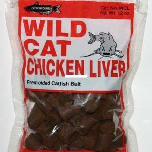 Catfish Charlie, Wild Cat Dough Balls, Chicken Liver, 12 oz
