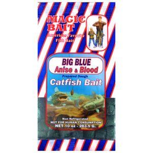 Magic Bait Co, Catfish Cubes, Big Blue, 10 oz