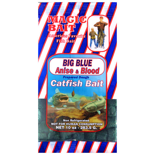 Magic Bait Co, Catfish Cubes, Big Blue, 10 oz