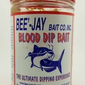 Bee-Jay Dip Bait, Blood, 16 oz