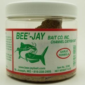 Bee-Jay Dough Bait, Garlic , 14 oz