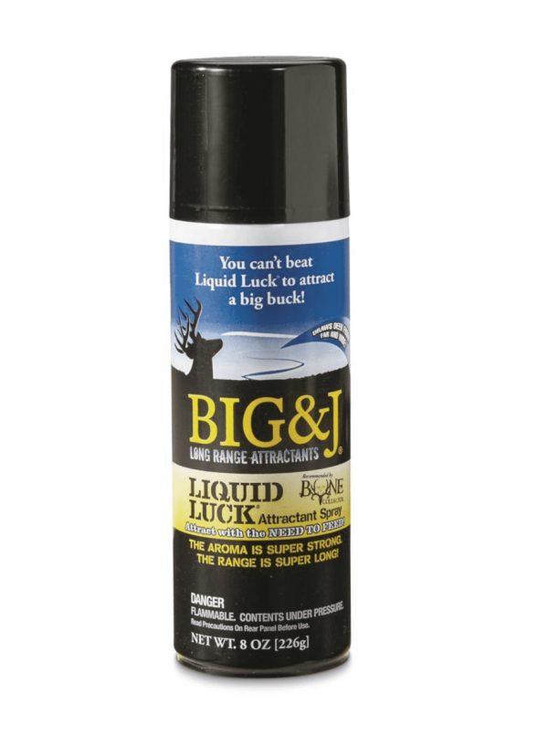 Big and J Liquid Luck, Aerosol Spray