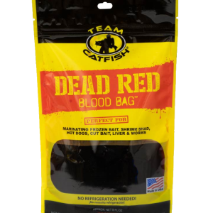 Team Catfish Dead Red Blood Bag